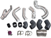 Intercooler Piping Kit For 98-05 Lexus Is300 2jz-gte Swap Factory Twin Turbo-blk