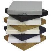 Pearlescent 6x6 Greeting Card Boxes Gift Wedding. Choose Colour And Quantity