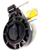 Hayward Byc1060e1ggb Pvc Gear Operated Byc Series Butterfly Valves 6-inch Gray