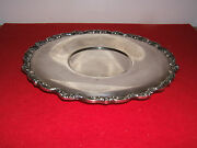 Old English By Poole No. 5025 Silverplate 10 1/4 Circular Tray Platter Epca