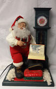 Telco 24 Animated Motionette Electric Christmas Coo-coo Clock Santa Claus Talk