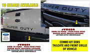 Tr031 Tr034 2008-16 Ford Super Duty - Grille And Tailgate Letters - F250 F350 F450