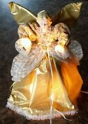Rare 1987 Telco Motion-ettes 12 Animated And Illuminated Christmas Angel Tree-top