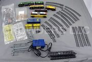 Life Like Burlington Northerner And Chessie System Locomotives And Hobby Transformer