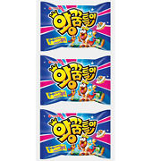 3pack Giant Worm Shape Jelly 47g Korean Snack Food Soda Jelly Candy