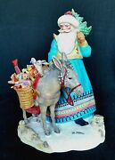 Southern Passages Santa Designed By Lynn Bywalters For Lenox China