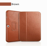 Executive Real Leather Case For Samsung Galaxy Tab 3 8 T310 Tan/light Brown