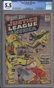 Brave And The Bold 29 - Cgc 5.5 - 2nd Justice League - Dc Comics