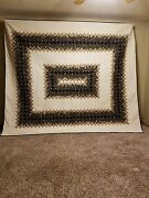 A Walk In The Park Quilt Handmade By Amish-mennonite Seamstresses