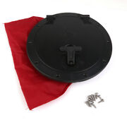 2pcs 6 + 8 Hatch Cover Deck Plate Bag Kit For Marine Boat Kayak Accessory