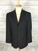 Mens Ted Baker Accelerated Blazer/jacket - 38r - Grey - Wool - Great Condition