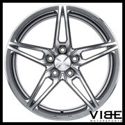 19 Ace Aff01 Flow Form Silver Concave Wheels Rims Fits Honda Accord Coupe