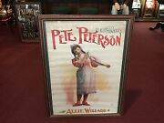 1800's Theatre Poster Chicago Opera House Pete Peterson  Watch Video