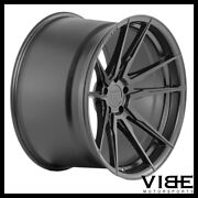 20 Rohana Rfx2 Black Concave Wheels Rims Fits Ford Mustang Gt Gt500