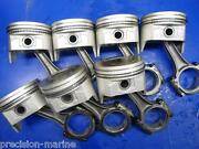 5 Pistons Oversize .030, Ford 302 5.0l 2 Rear Main Seal