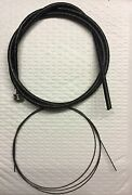 Harley 56502-54 Panhead Cloth Spark Or Throttle Control Coil Cable 54-64 Usa