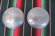 Vintage 1946-1947-1948-1949 Plymouth Replacement Hub Caps Nors Dog Dish Hubcaps