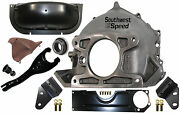 New Chevy Bellhousing,dust Cover,clutch Fork,ball,bearing,engine Mounts,3733365