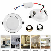 Dimmable 3w 5w 7w 9w 12w 15w 18w Led Recessed Ceiling Downlight Panel Light Cree