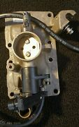 Sma5166 Evinrude Brp Etec 30hp 2011 Throttle Body 5007345 Outboard Motor Used