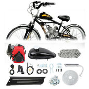 4-stroke 49cc Bicycle Motorized Gas Petrol Engine Motor Kit Chain Scooter Red