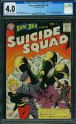 Brave And The Bold 25 Cgc 4.0 Dc 1959 1st Suicide Squad Harley F12 1 141 Cm