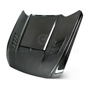 15-17 Ford Mustang Ram Air Double Sided Hood Ac-hd15fdmu-ab-ds