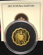 2011 Blessings Of Wealth 150 Coin Gold - Blessings Of Happiness