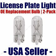 License Plate Bulb 2pk Oe Replacement Fits - Listed Cadillac Vehicles - 161