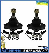 2 Pair Front Upper Ball Joint For Ford Falcon Mustang Maverik Torino
