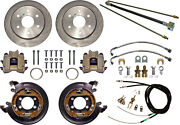 Currie Disc Brake Kitlines And Cablerear Parkingbig Ford New11 Rotors6x5.5