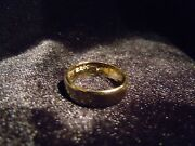 Why Wear 10k14k Usa Placer 22k Solid Gold Bullion Sz5-8 Ring Apm Jewelry 2m