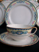 Haas And Czjzek/crown Imperial- Cambridge C1918-38 Cup And Saucers- Excellent