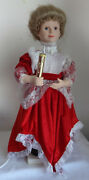 Vintage Telco Motion-ette Lighted Animated Christmas Victorian Lady See Video