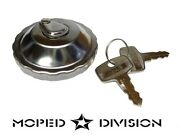 Locking 30mm Moped Gas Tank Cap For Step Thru Mopeds Fits Tomos Puch Honda Sachs