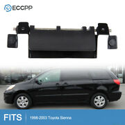 Rear Hatch Tailgate Door Handle For Toyota Sequoia Sienna Metal Black Liftgate