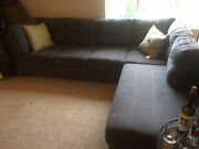 Sectional Couch-charcoal Issaquah