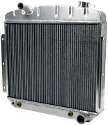 Allstar All30007 Radiator 1957 Chevy 6 Cylinder With Trans Cooler