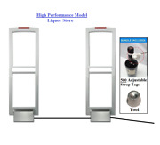 Wireless Liquor Store Pkg- Eas Am Security Antenna System + Adjustable Strap Tag