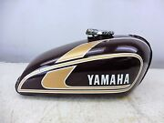 1975 Yamaha Tx500 Xs500 Xs Tx 500 Y613and039 Gas Fuel Petrol Tank Cell