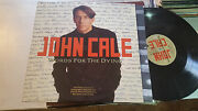John Cale Words For The Dying 1989 Vu Promo Lp Record Brian Eno Warhol Lou Reed