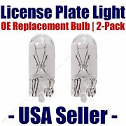 License Plate Bulb 2pk Oe Replacement Fits - Listed Cadillac Vehicles - 2825