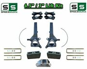 6.5 / 3 Spindle Block Lift Kit For 2004 - 2021 Nissan Titan 2wd W/cb Spacer