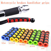 2 X Nonslip Motorcycle Brake Clutch Handle Bar Grips Lever Rubber Sleeve Cover
