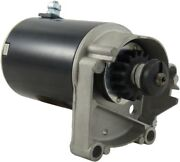 New Starter Briggs And Stratton 14hp 16hp 18hp 497596 V Twin 393017 Lg497596