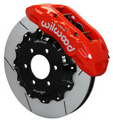 Wilwood Disc Brake Kitfront10-15 Ford F-15015.5 Rotorsred 6 Piston Calipers