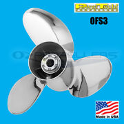 Yamaha Power Tech Stainless Ofs3 Prop Propeller Suits V6 150-300hp 17 Pitch