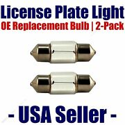 License Plate Bulb 2pk Oe Replacement Fits - Listed Cadillac Vehicles - 6418