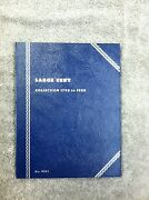 Whitman Folder 9001 For Large Cents New