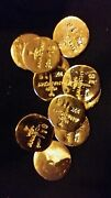 2 1 Gram Bar Usa Bullion 1g 22k Placer Gold Rounds From Mine X Lot 114 Anarchy